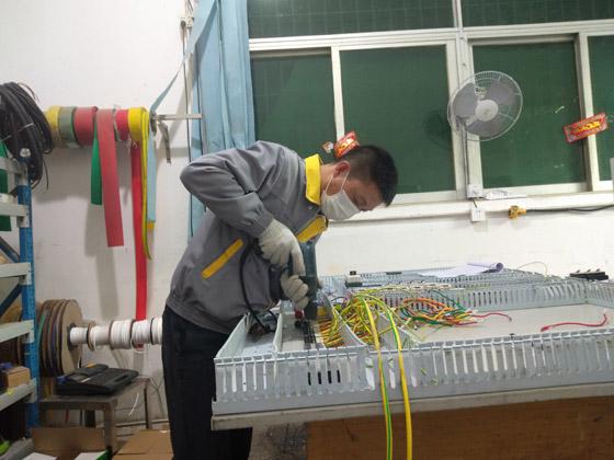 NMP易胜博大小球开盘思维设备控制电箱制作过程与成品